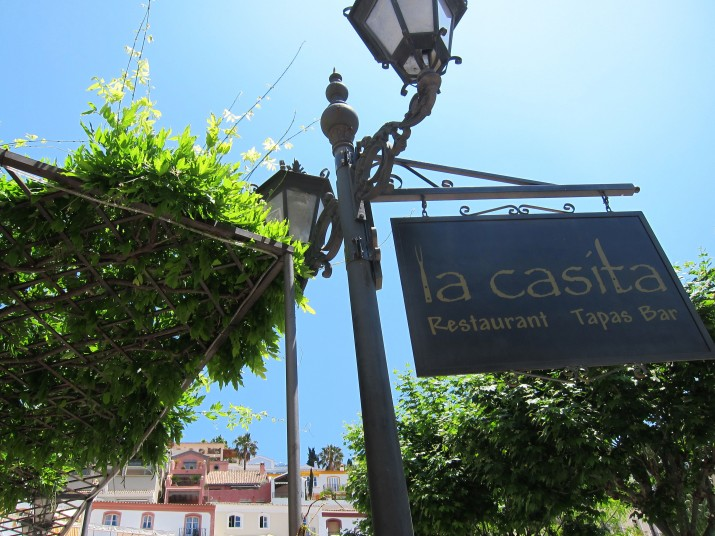 La Casita, restaurang La Heredia