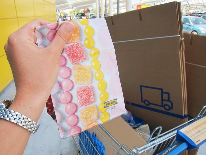 Lösgodis och IKEA-shopping!