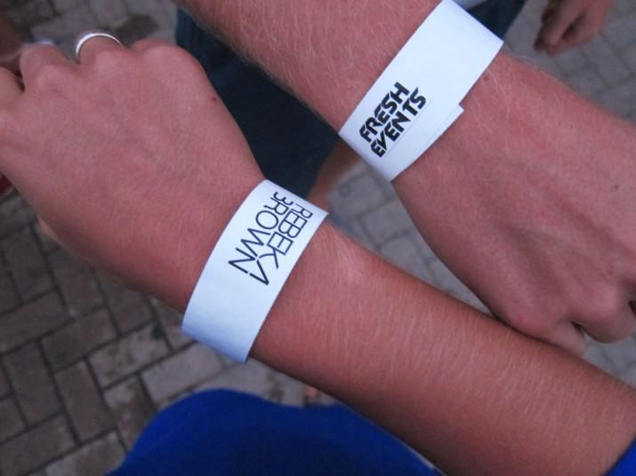 På kvällen var det dags för Gibraltar Electronic Music Festival med bland annat Rebeka Brown.